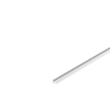 Профиль для светодиодной ленты без рассеивателя SLV GRAZIA 10 1000464, белый, металл