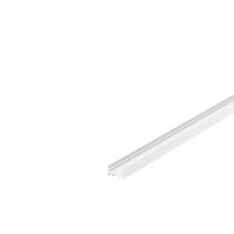 Накладной профиль для светодиодной ленты без рассеивателя SLV GRAZIA 20 1000527, белый, металл