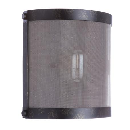 Настенный светильник Divinare Foschia 8110/03 AP-1, 1xE27x40W, черный, металл