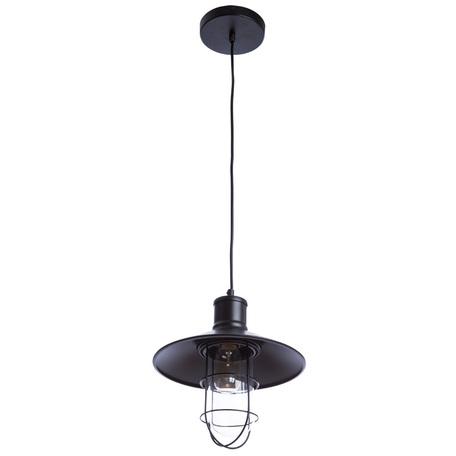 Подвесной светильник Divinare Laterna 2007/01 SP-1, 1xE27x40W, черный, прозрачный, металл, стекло