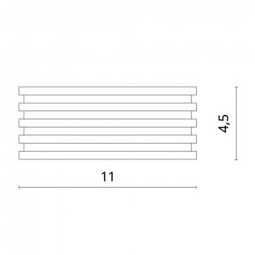 Схема с размерами Divinare 1349/02 PL-1