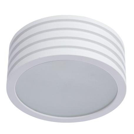 Потолочный светильник Divinare Cervantes 1349/03 PL-1, IP44, 1xG9x50W, белый, металл со стеклом