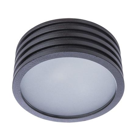 Потолочный светильник Divinare Cervantes 1349/04 PL-1, IP44, 1xG9x50W, черный, черно-белый, металл со стеклом
