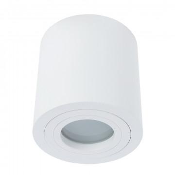 Потолочный светильник Divinare Galopin 1460/03 PL-1, IP44, 1xGU10x50W, белый, металл, стекло