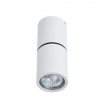 Потолочный светильник с регулировкой направления света Divinare Gavroche Posto 1800/03 PL-1, 1xGU10x50W, белый, металл