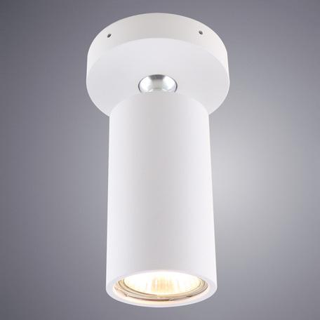 Потолочный светильник с регулировкой направления света Divinare Gavroche Volta 1968/03 PL-1, 1xGU10x50W, белый, металл