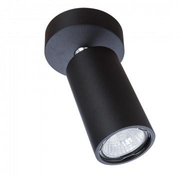 Потолочный светильник с регулировкой направления света Divinare Gavroche Volta 1968/04 PL-1, 1xGU10x50W, черный, металл