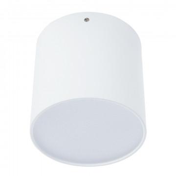 Потолочный светодиодный светильник Divinare Tubo 1464/03 PL-1, LED 7W 4000K 500lm CRI≥80, белый, металл