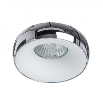 Встраиваемый светильник Divinare Romolla 1827/02 PL-1, 1xGU5.3x50W, хром, металл