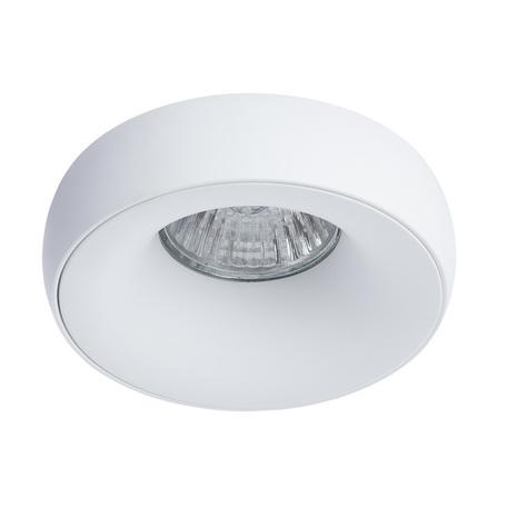 Встраиваемый светильник Divinare Romolla 1827/03 PL-1, 1xGU5.3x50W, белый, металл