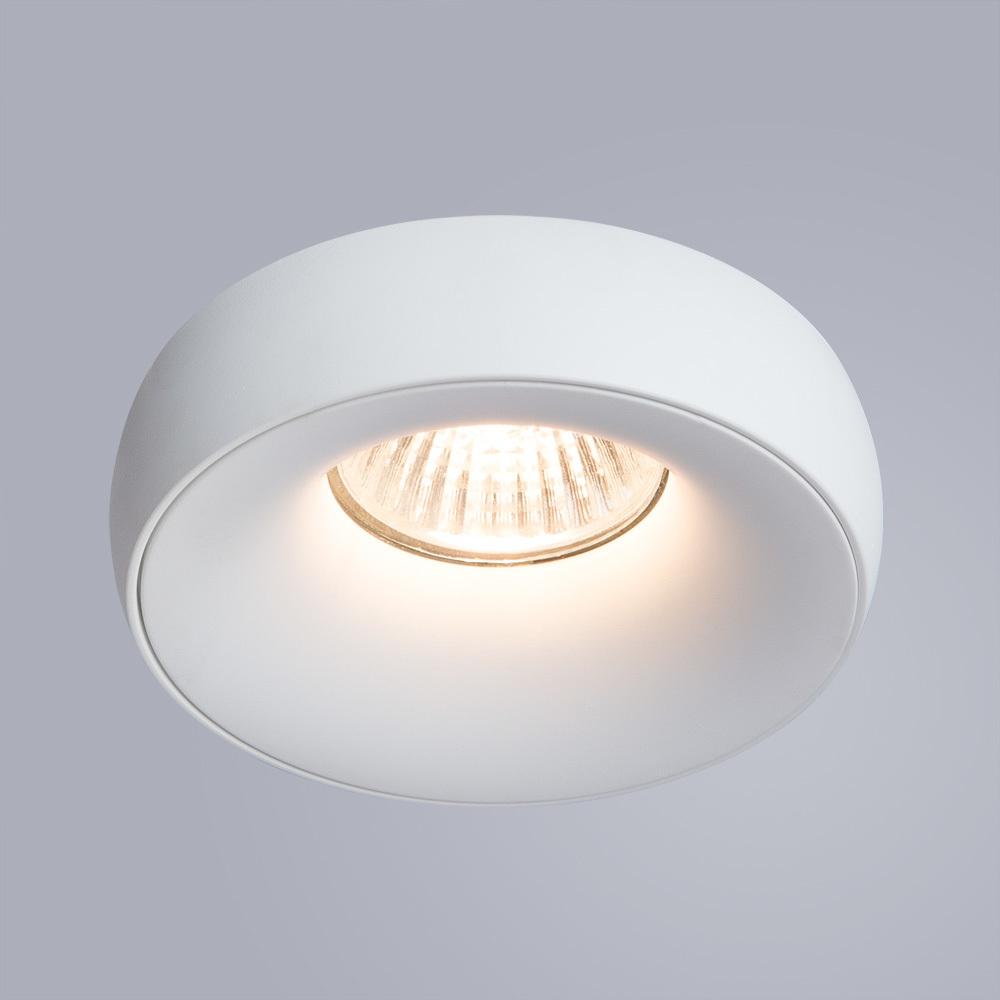 Встраиваемый светильник Divinare Romolla 1827/03 PL-1, 1xGU5.3x50W, белый, металл - фото 2