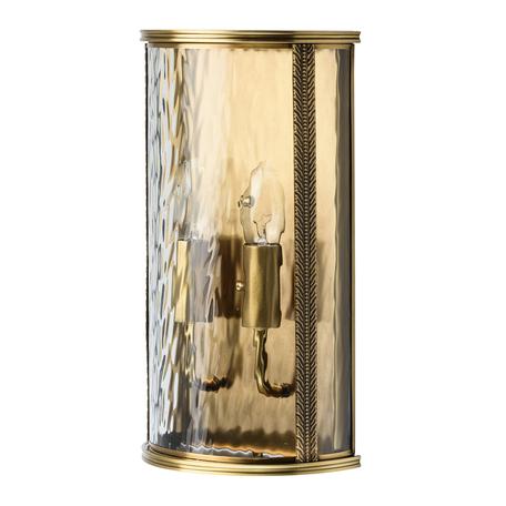 Настенный светильник Chiaro Мидос 802021702, IP44, 2xE14x40W, золото, прозрачный, металл, стекло