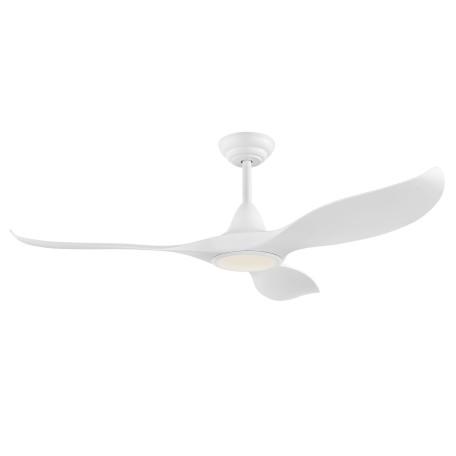 Светодиодный светильник-вентилятор Eglo Cirali 52 35006, LED 15W 2000lm, белый, пластик