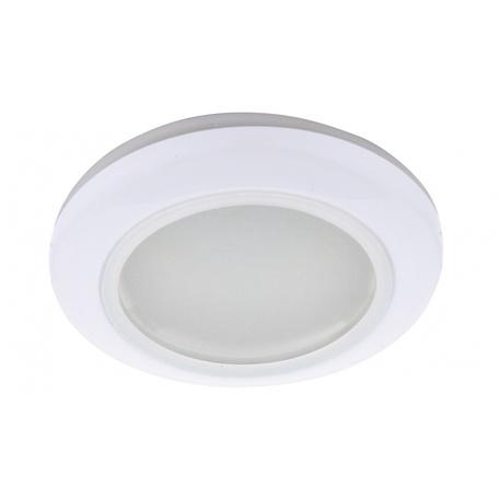 Встраиваемый светильник Arte Lamp Aqua A2024PL-3WH, IP40, 1xGU10x50W, белый, металл