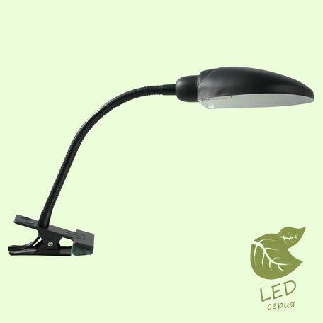 Настольная лампа Lussole Roma GRLST-4214-01, IP21, 1xE14x6W, черный, металл