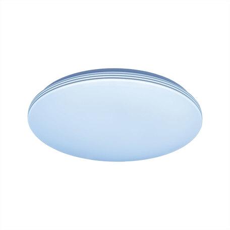 Потолочный светодиодный светильник Citilux Симпла CL714R36N, LED 36W 4000K 3200lm, белый, пластик
