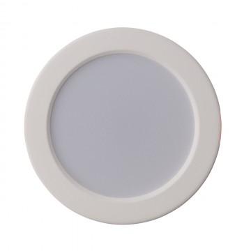 Светодиодная панель De Markt Стаут 702010301, LED 12W 3000K, белый, металл с пластиком, пластик