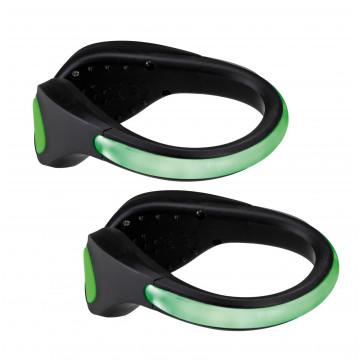 Светодиодное браслет на кроссовки со светодиодной подсветкой Paulmann Shoe Clip 70972, LED 0,2W, черно-белый, черный, пластик - миниатюра 2