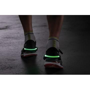 Светодиодное браслет на кроссовки со светодиодной подсветкой Paulmann Shoe Clip 70972, LED 0,2W, черно-белый, черный, пластик - миниатюра 6