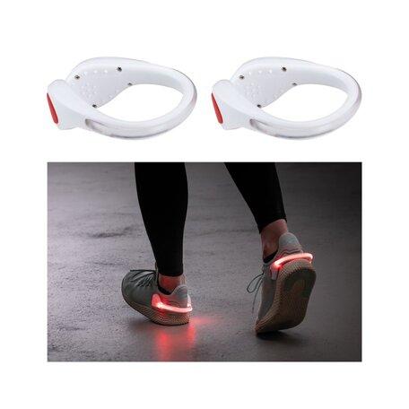 Светодиодное браслет на кроссовки со светодиодной подсветкой Paulmann Shoe Clip 70973, LED 0,2W, белый, пластик