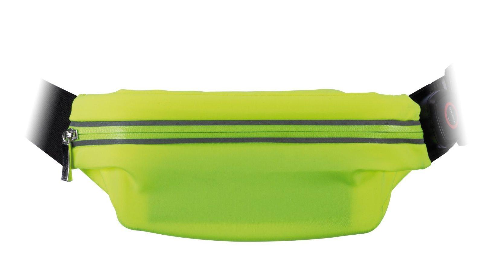 Сумка на талию со светодиодной подсветкой Paulmann Waist bag yellow rechargeable 70969, LED 0,4W, черный, зеленый, текстиль - фото 4
