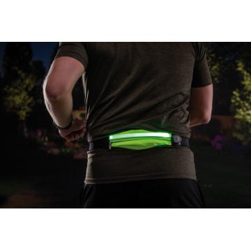 Сумка на талию со светодиодной подсветкой Paulmann Waist bag yellow rechargeable 70969, LED 0,4W, черный, зеленый, текстиль - миниатюра 6