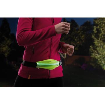 Сумка на талию со светодиодной подсветкой Paulmann Waist bag yellow rechargeable 70969, LED 0,4W, черный, зеленый, текстиль - миниатюра 8