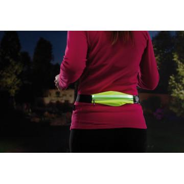 Сумка на талию со светодиодной подсветкой Paulmann Waist bag yellow rechargeable 70969, LED 0,4W, черный, зеленый, текстиль - миниатюра 9