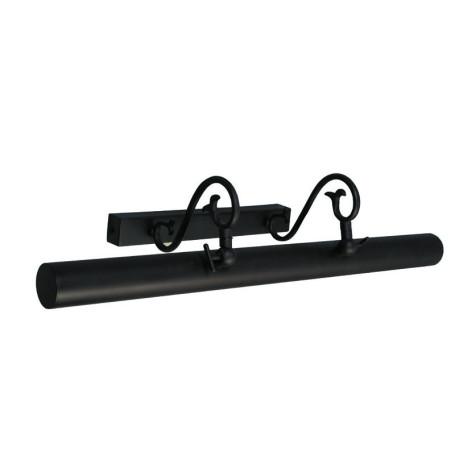 Настенный светильник для подсветки картин L'Arte Luce Napoli L13877.03, 1xG5x14W, коричневый, металл, ковка