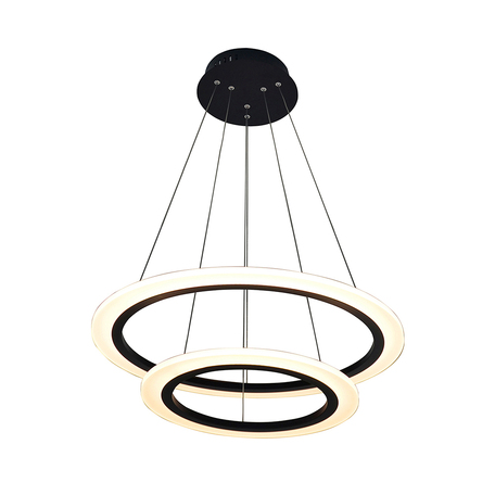 Подвесной светильник Zumaline Flat Circle L-CD-660-BL