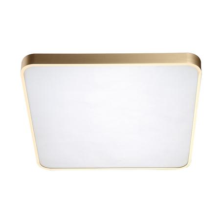 Потолочный светодиодный светильник Zumaline Sierra 12100005-GD, LED 60W 4000K 3600lm, матовое золото, металл с пластиком