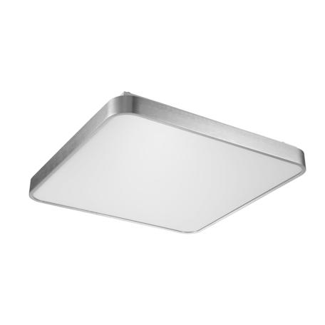 Потолочный светодиодный светильник Zumaline Sierra 12100005-SL, LED 60W 4000K 3900lm, серебро, металл с пластиком
