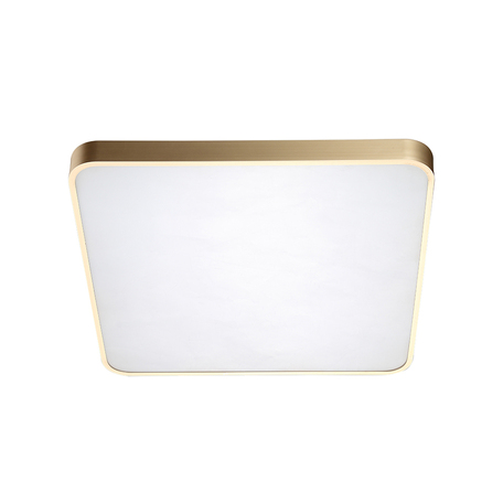 Потолочный светодиодный светильник Zumaline Sierra 12100006-GD, LED 40W 4000K 2400lm, матовое золото, металл с пластиком