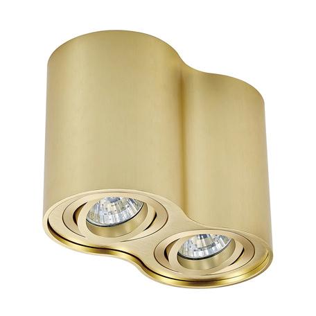 Потолочный светильник Zumaline Rondoo 50407-GD, 2xGU10x50W, матовое золото, металл