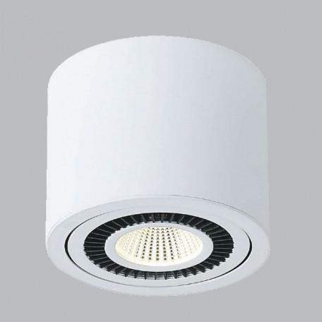 Потолочный светодиодный светильник Donolux DL18700/11WW-White Dim SALE, белый, черно-белый