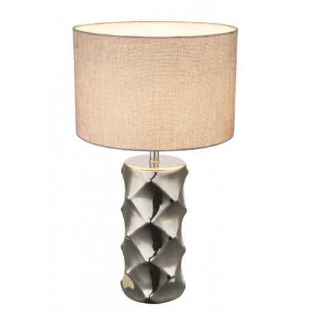 Настольная лампа Globo Tracey 21717, 1xE27x40W, керамика, текстиль