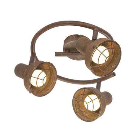 Потолочная люстра с регулировкой направления света Globo Tycho 54810-3, 3xE14x15W, металл