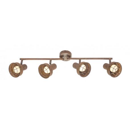 Потолочный светильник с регулировкой направления света Globo Tycho 54810-4, 4xE14x15W, металл