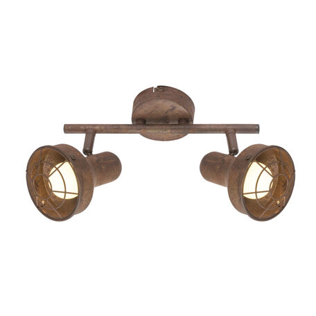 Потолочный светильник с регулировкой направления света Globo Tycho 54810-2, 2xE14x15W, металл
