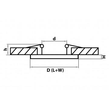 Схема с размерами Lightstar 070312
