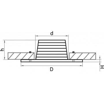Схема с размерами Lightstar 212172