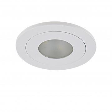 Встраиваемый светодиодный светильник Lightstar LEDdy 212175, IP44, LED 3W 3000K 240lm, белый, металл