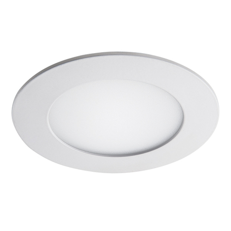 Встраиваемая светодиодная панель Lightstar Zocco 223062, IP44, LED 6W 3000K 300lm, белый, металл с пластиком
