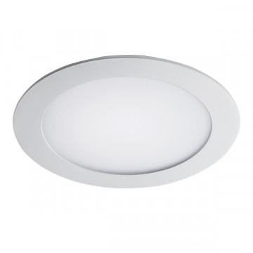 Встраиваемая светодиодная панель Lightstar Zocco 223122, IP44, LED 12W 3000K 600lm, белый, металл с пластиком