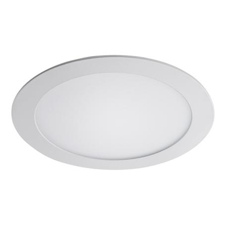Встраиваемая светодиодная панель Lightstar Zocco 223182, IP44, LED 18W 3000K 900lm, белый, металл с пластиком