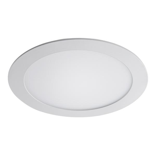 Встраиваемая светодиодная панель Lightstar Zocco 223182, IP44, LED 18W 3000K 900lm, белый, металл с пластиком - фото 1