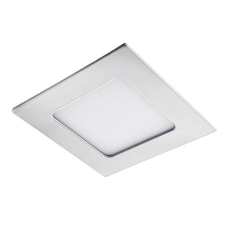 Встраиваемая светодиодная панель Lightstar Zocco 224062, IP44, LED 6W 3000K 300lm, белый, металл с пластиком
