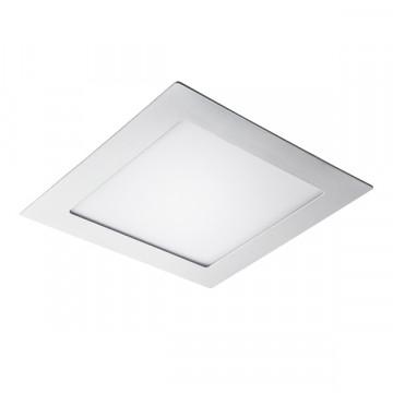 Встраиваемая светодиодная панель Lightstar Zocco 224152, IP44, LED 15W 3000K 600lm, белый, металл с пластиком