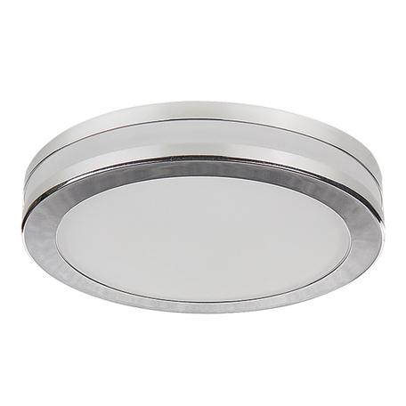 Встраиваемый светодиодный светильник Lightstar Maturo 070272, IP44, LED 15W 3000K 1200lm, хром, металл со стеклом