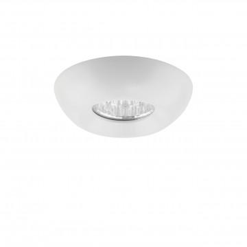 Встраиваемый светодиодный светильник Lightstar Monde 071036, IP44, 3000K (теплый), белый, прозрачный, металл, стекло